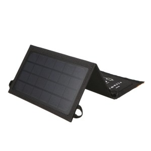 7W Portable Foldable USB Solar Panel Battery Charger Power Bank