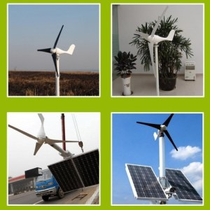 3 Blades 400W Small Wind Generator Fit For Home Lights Boat Wind Controller Maximum Power Point Tracking Type LS3