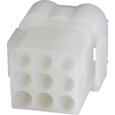 TE Connectivity Socket enclosure - cable .140 MATE-N-LOK Total number of pins 9 1-480673-0 1 pc(s)