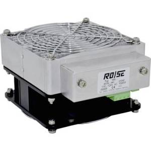 Rose LM Enclosure fan heater HHS1000 220 - 240 V AC 1000 W (L x W x H) 150 x 125 x 85 mm (without holder) 1 pc(s)
