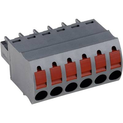 PTR Socket enclosure - cable AK(Z)4551 Total number of pins 8 Contact spacing: 3.50 mm 54551080401D 1 pc(s)