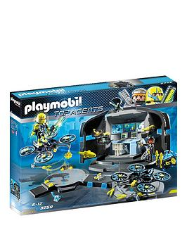 Playmobil 9250 Top Agents Dr. Drone's Command Base, One Colour