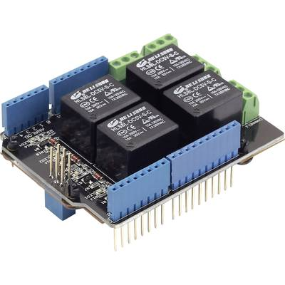 Seeed Studio Relay Shield v3.0 Relay shield Compatible with: Arduino
