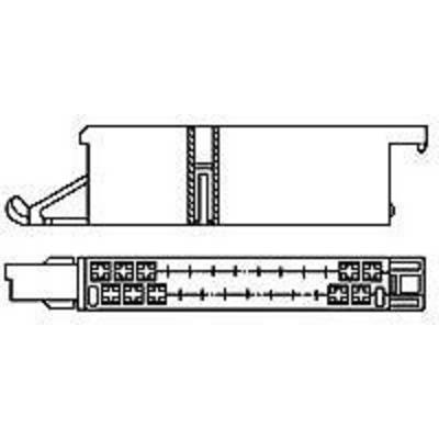 TE Connectivity Pin enclosure - cable J-P-T Total number of pins 25 Contact spacing: 5 mm 925471-1 1 pc(s)
