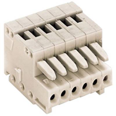 WAGO Socket enclosure - cable 733 Total number of pins 5 Contact spacing: 2.50 mm 733-105 1 pc(s)