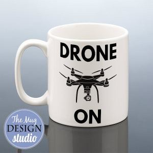 Drone Mug Drone Pilot Birthday Gift For Him Drones Cup Rc Owner Present Men Women Friend Husband Dad Uncle Enthusiast