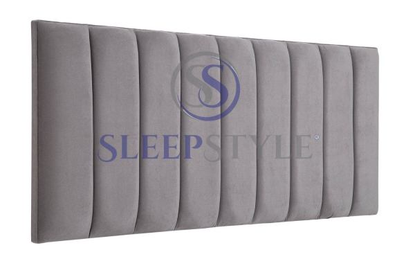 Solar Vertical Panels Upholstered Headboard - Choose Any Fabric All Sizes Double Kingsize Superking