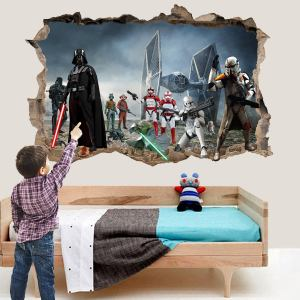 Star Troopers Robots Spaceship Wall Sticker Art Poster Mural Transfer Decal Print Room Home Nursery Office Shop Decor Id547