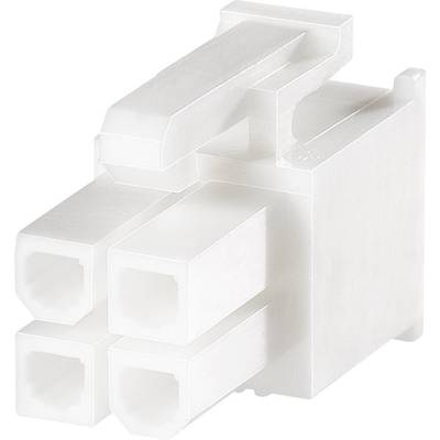 TE Connectivity Socket enclosure - cable VAL-U-LOK Total number of pins 4 Contact spacing: 4.20 mm 1586019-4 1 pc(s)