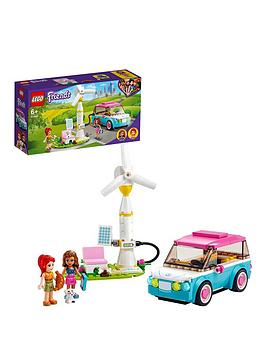 Lego Friends Olivia'S Electric Car Toy 41443