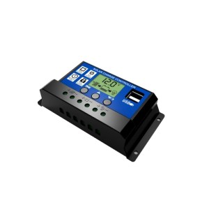 10A Solar Panel Controller HD LCD Battery Charge Regulator Intelligent Controller for Home Use Street Lamp