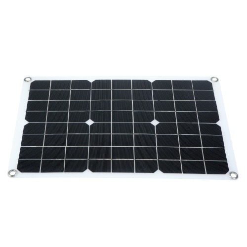 50W Solar Panel with USB Interface Car Battery Charger Kits (for 50W devices)