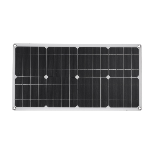 Solar Panel with USB Interface Car Battery Charger Kits (for 20-100W devices)