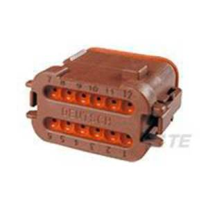 TE Connectivity Socket enclosure - cable DT Total number of pins 12 DT06-12SD-EP06 1 pc(s)