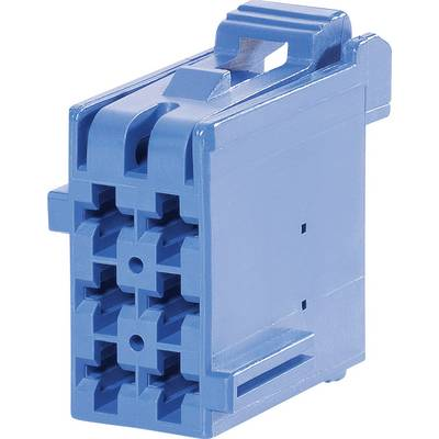 TE Connectivity Socket enclosure - cable J-P-T Total number of pins 6 Contact spacing: 5 mm 1-965640-6 1 pc(s)