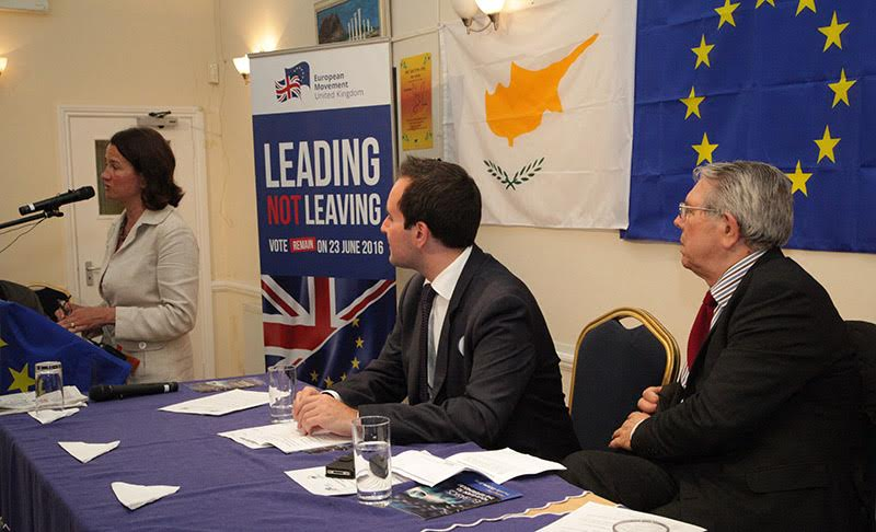 UK Cypriots urged to vote for remaining in the EU