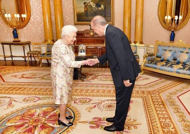 Erdogan's recent visit in the UK