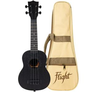 Flight NUS310BB Soprano Ukulele Blackbird