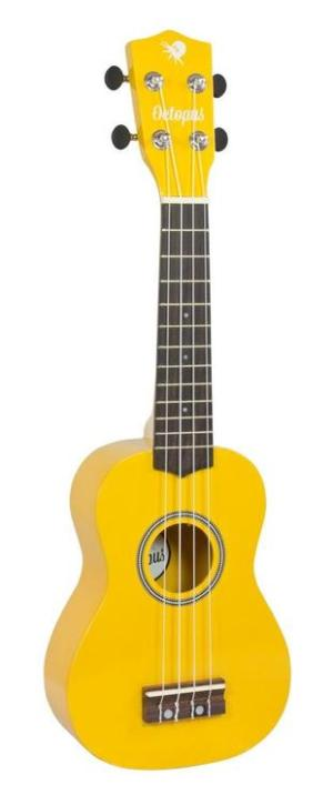 Octopus metallic series soprano ukulele Yellow