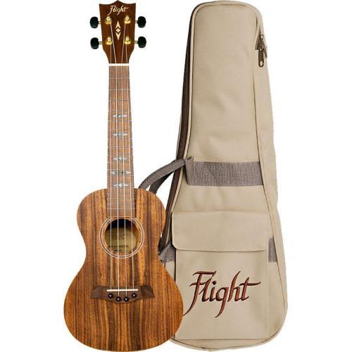 Flight DUC440 Concert Ukulele Acacia With Bag