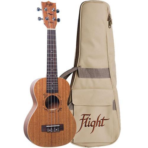 Flight DUC323 Mahogany Concert Ukulele With Bag