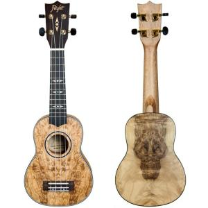 Flight DUS410 Soprano Ukulele Quilted