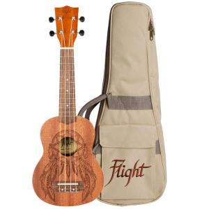 Flight NUS350DC Dreamcatcher Soprano Ukulele Free Shipping