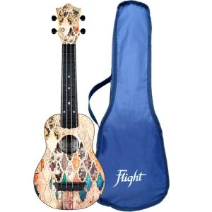 Flight TUS40 ABS Travel Ukulele Granada