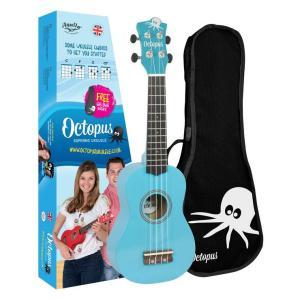 Octopus metallic series soprano ukulele Sky blue