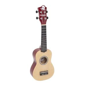 Octopus natural series soprano ukulele Yellow natural