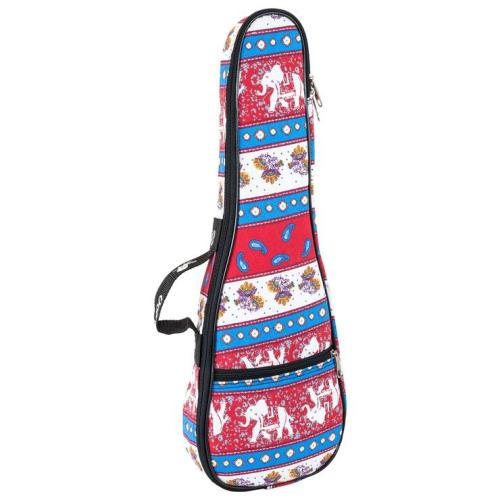 Octopus soprano ukulele bag ~ Indian textile