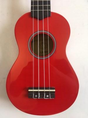 ISUZI LS-RD Red Soprano Ukulele