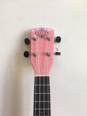 ISUZI LS-PK Pink Soprano Ukulele