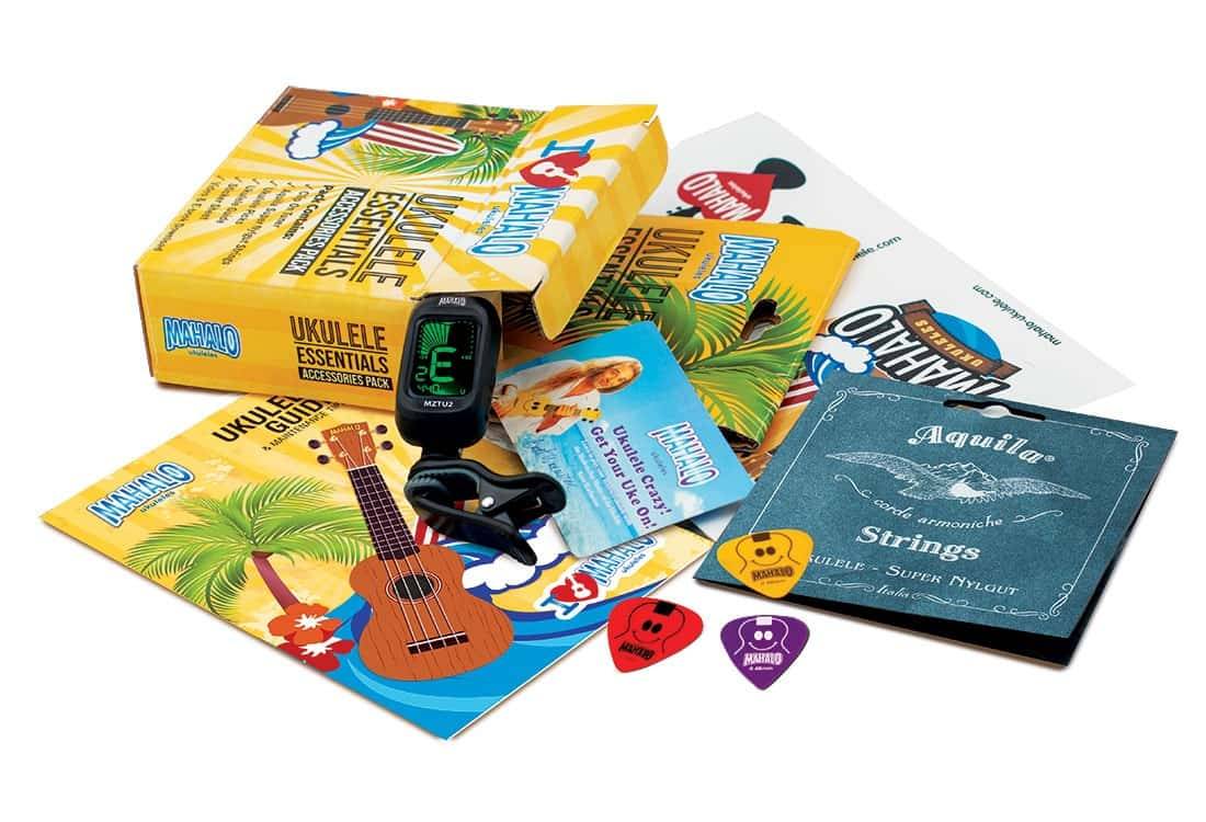 Mahalo Ukulele Essentials Accessory Pack