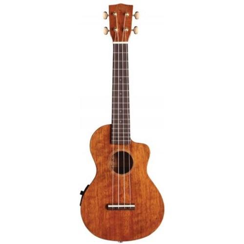 Mahalo Hano electro concert ukulele Natural