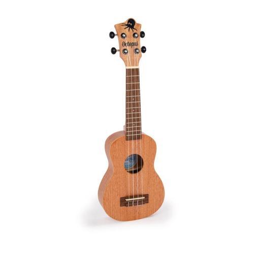 Octopus soprano ukulele Natural