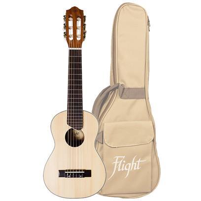 Flight GUT350 Guitarlele Natural With Bag