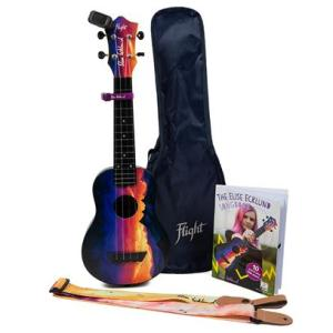 Flight TUSEE Elise Ecklund Sunset Travel Uke Bundle