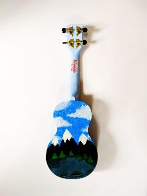 Lake Monster Hand Painted Soprano Ukelele