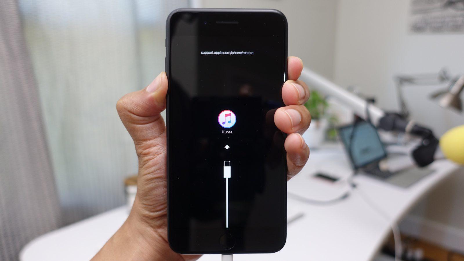 iPhone helyreállítási mód