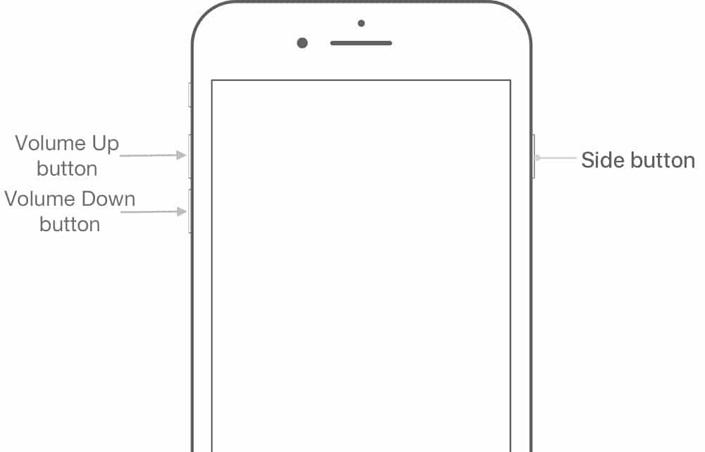 iPhone 8 немесе одан кейінгі нұсқаларында қалпына келтіру режимін енгізіңіз