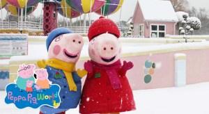 Peppa Pig World Christmas Wonderland Break from £24pp