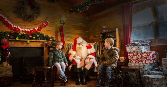 Meet Santa at Alton Towers