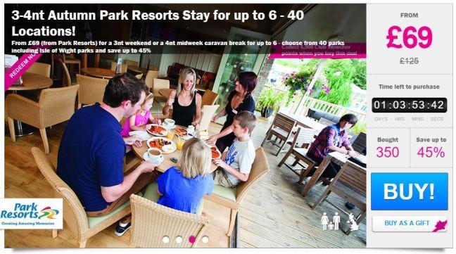 park-resort-wowcher-deal