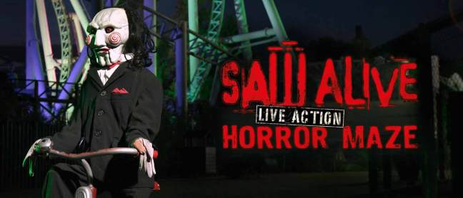 Fright Nights Saw Alive Horror