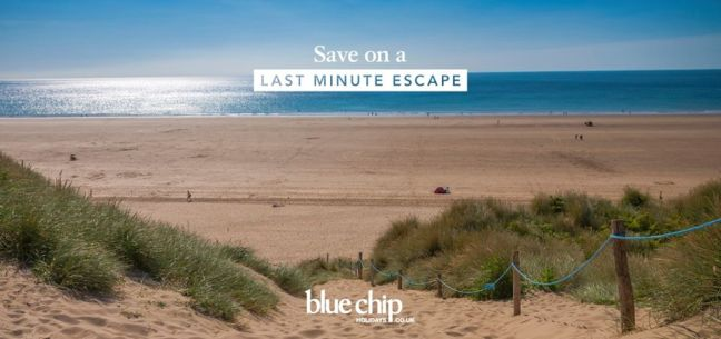 Save with a Blue Chip Holidays last minute break