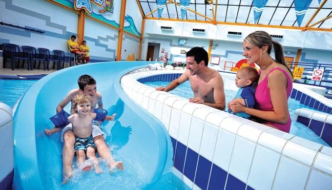 Indoor swimming pools at Parkdean