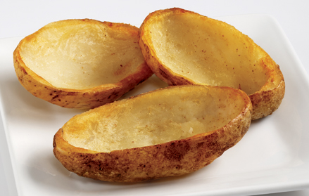 Image result for Potato Skins before cooked
