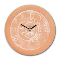 garden clocks and thermometers and