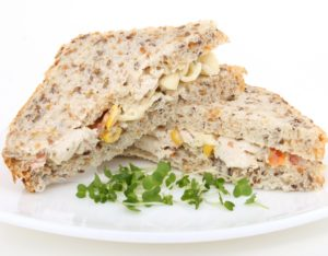 a healthy sandwich